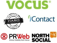 Vocus' Marketing Suite products and services