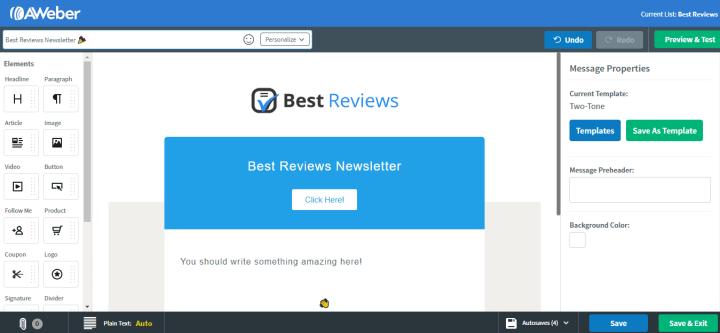 aweber-sample-email