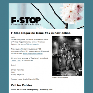 Nicely designed newsletter using Mad Mimi